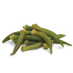 Dried Okra Chips