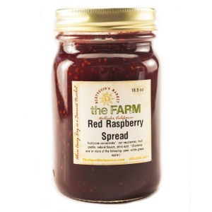 Red Raspberry Spread (No Sugar Added)