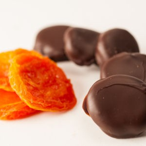 Chocolate Covered California Apricots