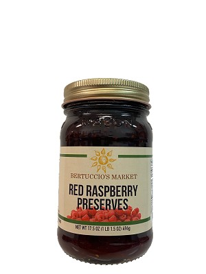 Red Raspberry Preserves (NEW)