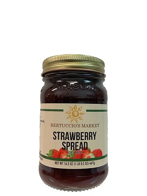 Strawberry Spread (No Sugar Added)